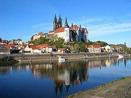 Albrechtsburg  og katedralen