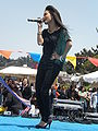 Melissa Reyes performing at 14th AF-AFC 09.JPG