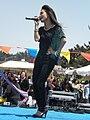 Melissa Reyes performing at 14th AF-AFC 09.JPG