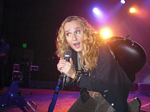 Heartland rock - Melissa Etheridge, the first significant female figure in the genre, performing live in 2010