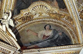 Mellini Chapel (Santa Maria del Popolo) - The Allegory of Temperance