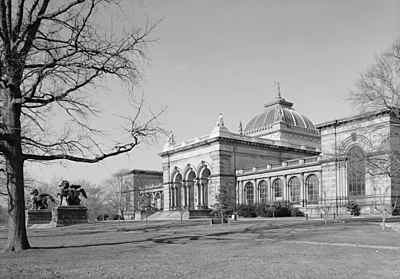 Memorial Hall in Philadelphia, Pennsylvania, architectural inspiration for the original Reichstag Building Memorial Hall Phila.jpg