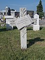 Memorial cross of 11 unknown Hungarian soldiers †1945, 2020 Sárvár.jpg