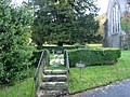 Memorial garden in the grounds of St John the Baptist church - geograph.org.uk - 1130559.jpg