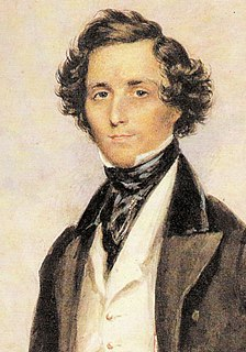 Felix Mendelssohn 19th-century German composer, pianist and organist