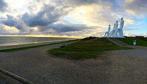 Men at Sea - Image: Mennesket ved havet tramonto