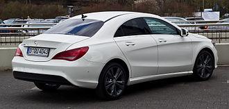 Mercedes-Benz CLA-Class - Pre-facelift C117 rear.