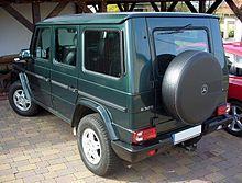 Una Mercedes-Benz Classe G station wagon