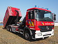 Mercedes Fire engine Brandweer Antwerpen Container Unit pic1.JPG