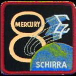 Missionsemblem Mercury-Atlas 8