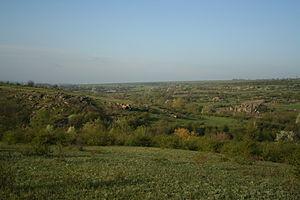 Granite-steppe lands of Buh - Valley of Mertvovod
