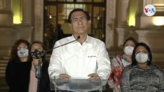Removal of Martín Vizcarra 2020 impeachment of Perus 85th president