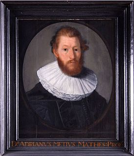 Dutch mathematician and astronomer