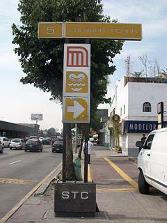 Eduardo Molina metro station Mexico City Metro station