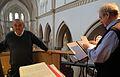 Mettingen St Agatha Konzert Friedrich Kircheis Ludwig Guettler 01.JPG
