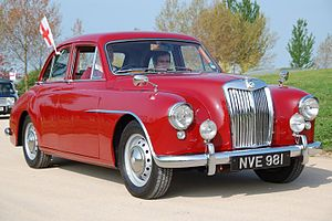 Compact executive car - 1955 MG Magnette