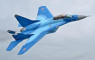 Mikoyan MiG-29K Carrier-based multirole combat aircraft