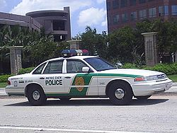 1995-97 Ford Crown Victoria Police Interceptor (Miami-Dade Police)