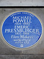 Michael Powell and Emeric Pressburger 1905-1990 Film-Makers worked here in Flat 120.jpg