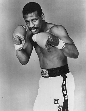 Michael Spinks - Spinks in 1987