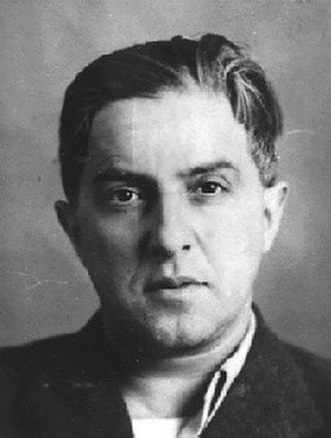 Mikhail Koltsov - Mikhail Koltsov. Official photo NKVD after arrest 1938