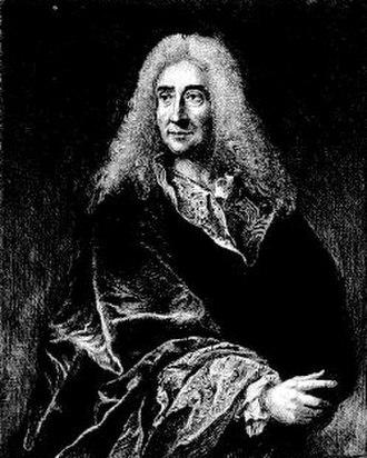 Michel Baron - Portrait by François Courboin