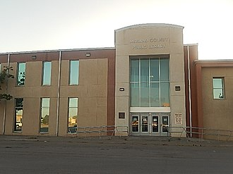 Midland County, Texas - Midland County Public Library in Midland