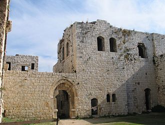 Majdal Yaba - Ruins of the Mirabel fortress