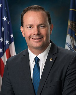 Mike Lee (American politician) United States Senator from Utah