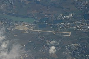 Linate Airport - Aerial view