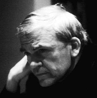 Milan Kundera Czech author of Czech and French literature