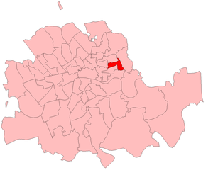 Mile End by-election, 1905 - Image: Mile End 1885