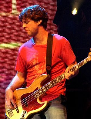 Millard Powers - Powers performing with Counting Crows, Aug. 21, 2006 Starwood Amphitheater, Nashville, Tennessee