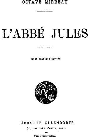 Abbé Jules - Image: Mirbeau Abbe Jules