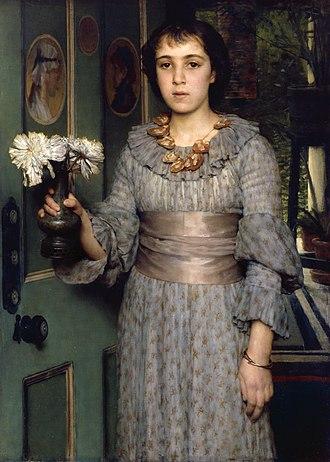 Anna Alma-Tadema - Image: Miss Anna Alma Tadema, by Laurens Alma Tadema