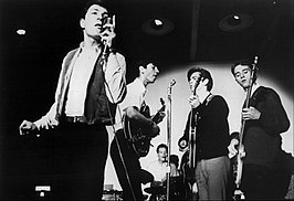 Mitch Ryder and the Detroit Wheels in 1966