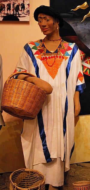Demographics of Oaxaca - Manniquin of woman in Mixtec dress