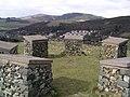 Modern stone circle, Innerleithen - geograph.org.uk - 153780.jpg