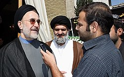 Mohammad Khatami, interview with Fars (54885 774)