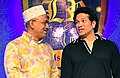 Mohammad Mosaddak Ali met with Sachin Tendulkar on the occasion of Legends of Rupganj cricket club's grand inaturation ceremony in Dhaka.jpg