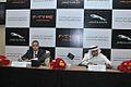 Mohammed Yousuf Naghi Motors unveils Jaguar F-TYPE in Jeddah, KSA (9005507918).jpg