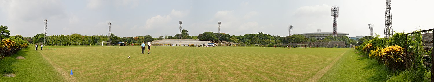 Mohun Bagan Ground - Panoramic View Mohun Bagan Ground - Mohun Bagan Athletic Club - Kolkata 2014-06-08 4915-4919 Compress.JPG