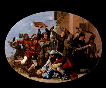 Molenaer, Jan Miense - Battle Between Carnival and Lent - Google Art Project.jpg