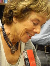 Haskell at a book signing in 2013