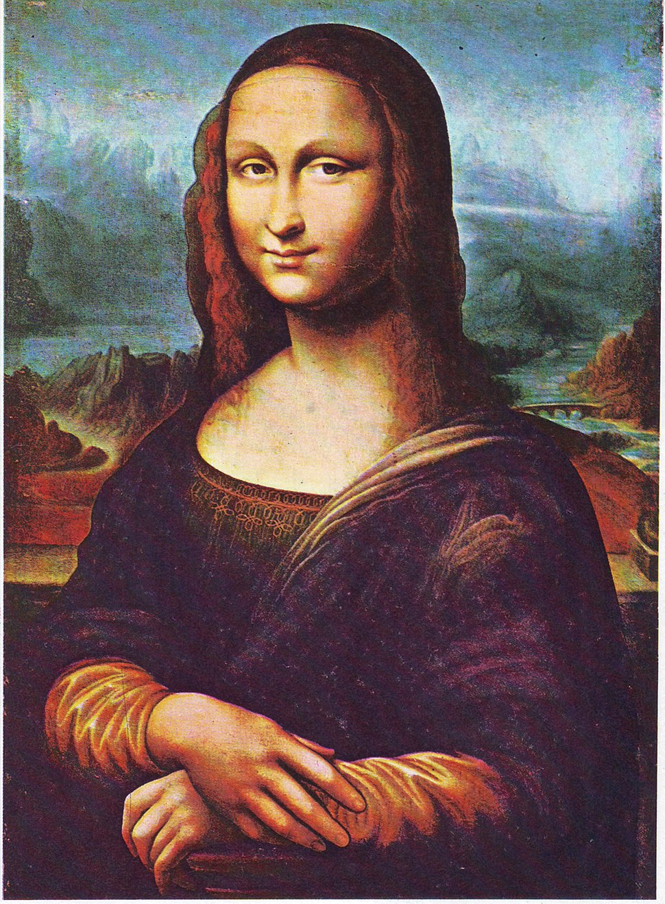 Mona Lisa (copy, Thalwil, Switzerland)
