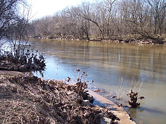 Monocacy River - The Monocacy River near Frederick in 2007