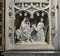 Mons St Waltrude Church altar scenes life of Christ 03.JPG