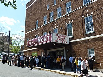 Montclair Film - At the Wellmont Theatre during MFF15
