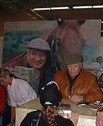 Monty Roberts at Equitana in Essen, Germany, March 2003