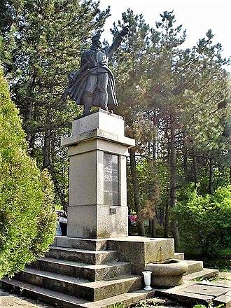 1300 Corporals - Monument 1300 kaplara (1300 Corporals) on Mount Rajac, part of Suvobor